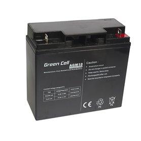 Green Cell Gel Battery AGM 12V 20Ah