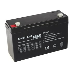 Green Cell Gel Battery AGM 6V 12Ah