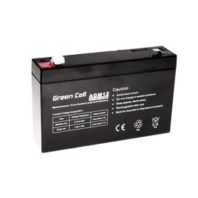 Green Cell Gel Battery AGM 6V 7Ah
