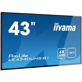 "Iiyama ProLite LE4340UHS-B1 43"" Class (42.5"" viewable) LED display"
