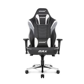 AKRacing Masters Series MAX - Black/White Gaming Chair