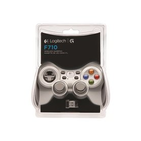 Logitech Wireless Gamepad F710 - gamepad - wireless - 2.4 GHz