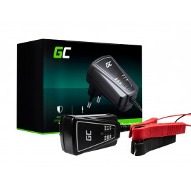 Green Cell Charger for accumulators 6V / 12V (1A)