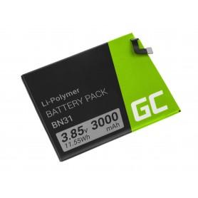 Green Cell Smartphone Battery BN31 Xiaomi Mi A1 5X Note 5A Redmi S2 Y2