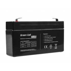 Green Cell AGM Battery 6V 1.3Ah