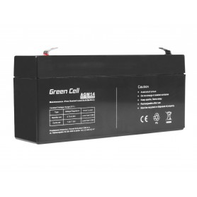 Green Cell AGM Battery 6V 3.3Ah