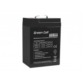 Green Cell AGM Battery 6V 4Ah