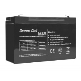 Green Cell AGM Battery 6V 10Ah