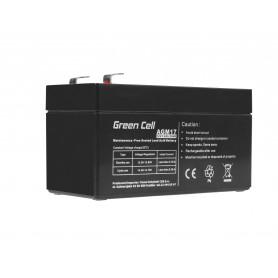Green Cell AGM Battery 12V 1.2Ah
