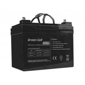 Green Cell AGM Battery 12V 33Ah