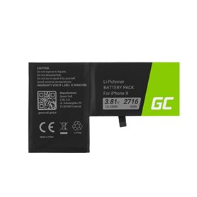 Green Cell Smartphone Battery Iphone X