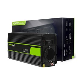 Green Cell ® Voltage Car Inverter 12V to 230V, 500W/1000W