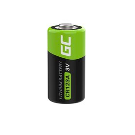 Lithium Green Cell CR123A 3V 1400mAh Battery
