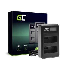 Green Cell Charger LC-E8 Canon LP-E8 EOS Rebel T2i, T3i, T4i, T5i, EOS 600D, 550D, 650D, 700D, Kiss X5, X4, X6