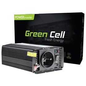 Green Cell ® Voltage Car Inverter 24V to 230V, 300W / 600W