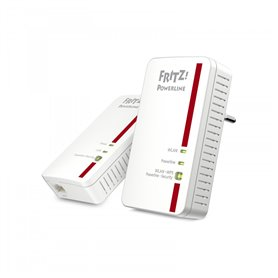 AVM FRITZ!Powerline 1240E - wireless 1200Mbit/s built-in Ethernet port - WLAN PowerLine Network Adapter