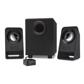 Logitech Z213 - Speakers system 2.1 - black