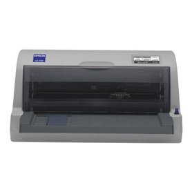 Epson LQ 630 printer - monochrome - dot-matrix