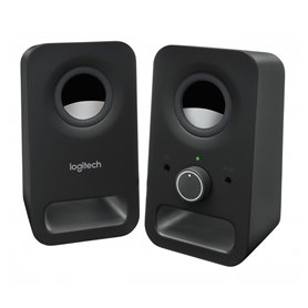Logitech Z150 - stereo speakers - black