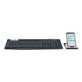 Logitech K375s Multi-Device - wireless keyboard - German
