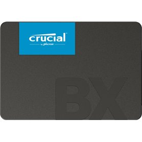 Crucial BX500 - solid state drive - 480 GB - SATA 6Gb/s 3D NAND