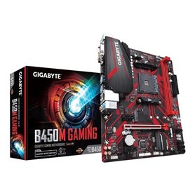 Gigabyte B450M GAMING - 1.0 - motherboard - micro ATX