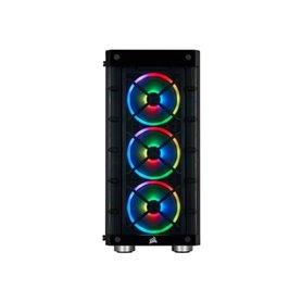 CORSAIR iCUE 465X RGB - mid tower - ATX black TG