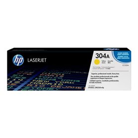 HP 304A Yellow toner  (CC532A)