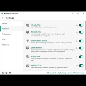 Kaspersky Antivirus - BOX -  Renewal - 1 Year - 1 Device