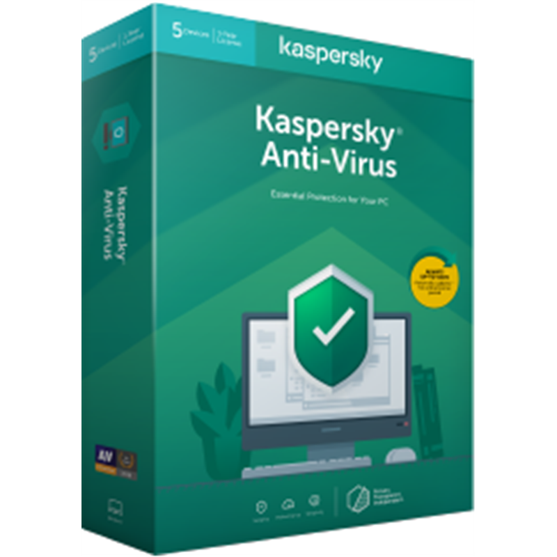 Kaspersky Antivirus - BOX - New - 1 Year - 1 Device