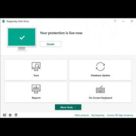 Kaspersky Antivirus - CARD - New - 1 Year - 1 Device