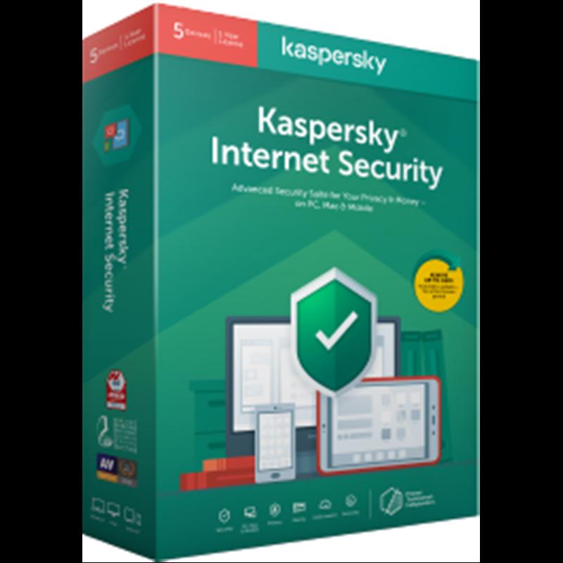 Kaspersky Internet Security - BOX - New - 1 Year - 1 Device