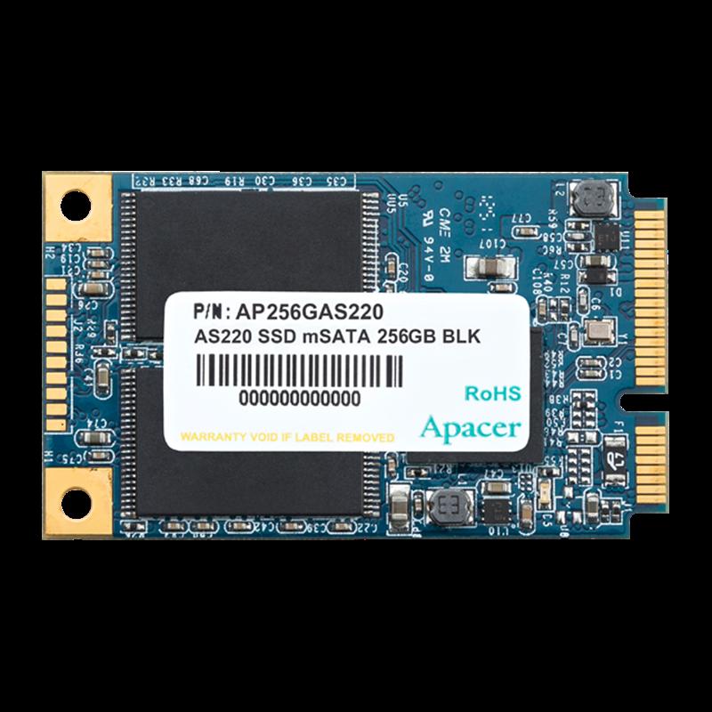APACER AS220 mSATA SATA III 64 GB, 6 Gb/s  SSD