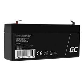 Battery AGM VRLA Green Cell 6V 3.4Ah
