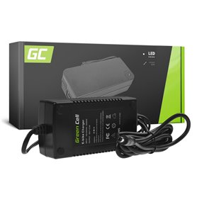 Green Cell® 36V E-Bike charger 42V 2A Li-Ion 5.5*2.1mm