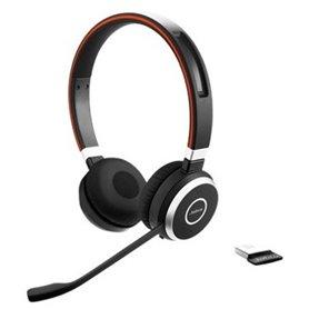 Jabra Evolve 65 MS Stereo Headset Head-band Black