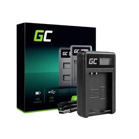 Green Cell Battery Charger BCN-1 for Olympus BLN-1/BCN-1, PEN-F, OM-D EM1, EM5, OM-D E-M5 Mark II
