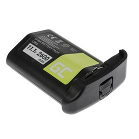 Green Cell Camera Battery for Canon EOS 1D 1Ds 1D X 1D Mark III Mark IV 11.1V