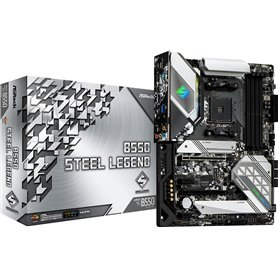 ASRock B550 Steel Legend - Motherboard - ATX