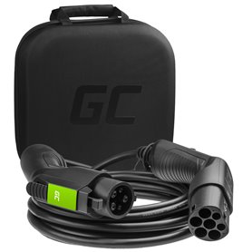 Cable Green Cell GC EV Type 1 7.2kW 32A 5m for charging electric cars EV