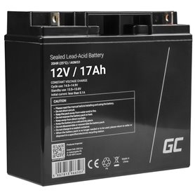 AGM Battery Lead Acid VRLA Green Cell 12V 17Ah for motor boats and electric vehicles