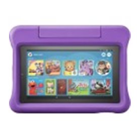 Amazon Fire 7 Kids Edition, 7-Inch/1GB/16GB/Webcam/Fire OS, Purple (2019) (B07H936BZT)