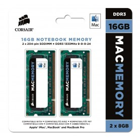 Corsair Mac Memory - DDR3 - 16 GB: 2 x 8 GB - 1333 MHz
