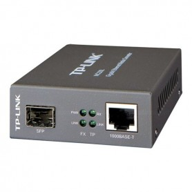 TP-LINK MC220L - fibre media converter - GigE