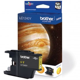 Brother LC1240Y Yellow Original Ink Cartridge