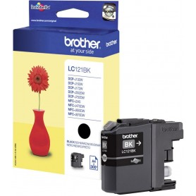Brother LC121BK Black Original Ink Cartridge