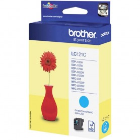 Brother LC121C Cyan Original Ink Cartridge