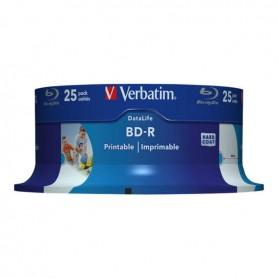 Verbatim 25GB 25pcs SL Media BD-R Printable