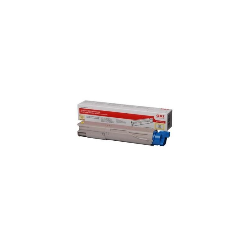 OKI 43459433 Laser Toner 1500Pages Yellow Laser Toner / cartridge