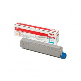 OKI 4348 7711 laser cartridge 6000 pages cyan laser toner / cartridge